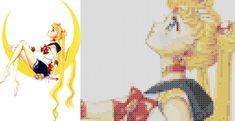 Sailor Moon - Cross Stitch Pattern by ~Kiara-Genesis on deviantART