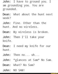 Image about supernatural in SPN by camila on We Heart It Supernatural Ships, Supernatural Bloopers, Supernatural Tattoo, Supernatural Imagines, Supernatural Wallpaper, Castiel, Supernatural Drawings, Nos4a2, Spn Memes