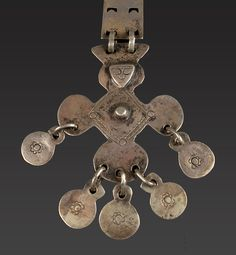 South Central Chile, or Southwest Argentina | 19th century silver Mapuche Pectoral | 1200$