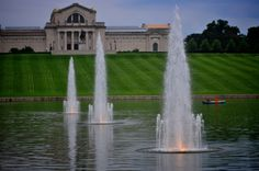 Good old Forest Park, it was nice living five minutes from you... (St. Louis)