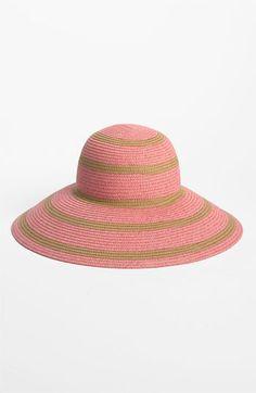 Nordstrom  Medium Stripe  Floppy Straw Hat Floppy Straw Hat 5cb29774660c