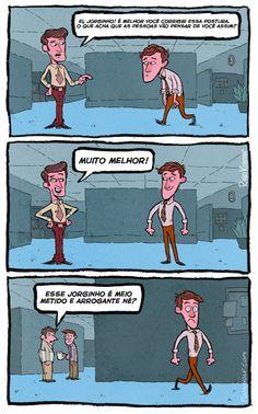 Satirinhas - Quadrinhos, tirinhas, curiosidades e muito mais! - Part 390