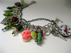 FREE shipping  Zombie Survival bracelet post by pinkflamingo61, $39.00