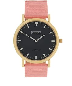 Shore Projects Pink St Ives Watch