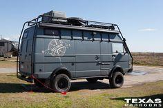 Van, Volkswagen, LT40 4×4, by Trailsurfers