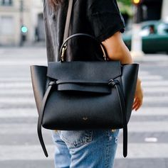 Love this Celine--I wear mine all the time-esp because the hardware is non-existent-just a tiny gold Celine stamp--wear it with everything!