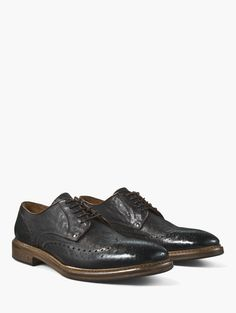 JOHN VARVATOS Heritage Welted Wingtip - CHOCOLATE. #johnvarvatos #shoes #all