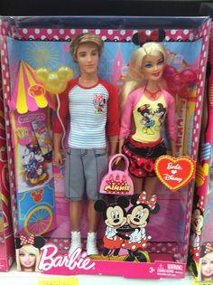 Barbie and Ken Love Disney