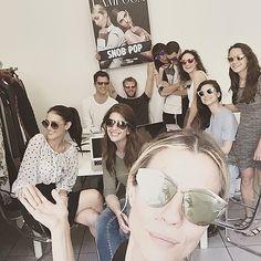#RobertaRuiu Roberta Ruiu: Loving my team work !! — SIETE UNA SQUADRA FORTISSIMIIII !! Tommy,Giuseppe,Giulia.L,Alice,Barbara,Ella,Giulia, Andrea e Federica  — Eccoli!!! Insieme stiamo preparando il prossimo lavoro per Lampoon e mi supportano - mi SOPPORTANO e credono, come me - nella BELLEZZA DEI SOGNI !! Ognuno di loro è fondamentale. Work in progress #TeamRuiu for @thefashionablelampoon — #redazione #teamwork #lampoon #workinprogress #staytuned #fun