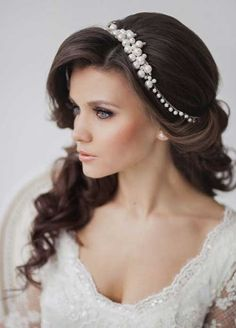 Wedding #Hair - Beautiful long bridal hairstyle. Description from pinterest.com. I searched for this on bing.com/images
