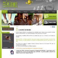 Une association de course à pied pour les 24 Heures de Rennes.