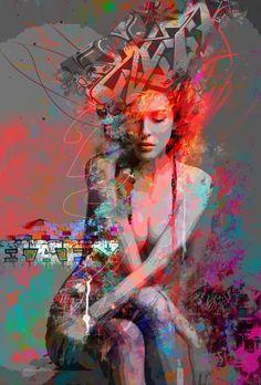 """Saatchi Art Artist yossi kotler; New Media, """"authentic self"""" #art"""