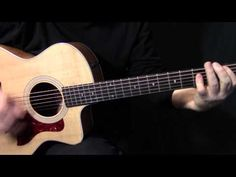 "how to play ""Show Me the Way"" on guitar by Peter Frampton - acoustic guitar lesson tutorial - YouTube"