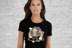 Hell's TriAngel - Girls T-shirt