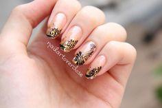 filigrees nail art