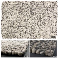 Artist's Loom Hand-woven  Contemporary Reversible Wool Rug | Overstock.com Shopping - The Best Deals on 5x8 - 6x9 Rugs