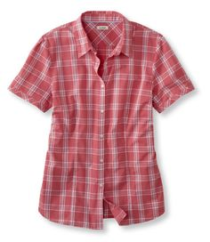 Cotton Dobby Shirt: Casual | Free Shipping at L.L.Bean-I have this in blue and love it with jeans. Plan to order another one.