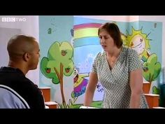 "BBC Comedy: ""Miranda"" - Coming to some PBS stations, a new Britcom starring Miranda Hart, based on her semi-autobiographical writing and BBC Radio comedy show. In this scene she threatens a health club advisor to refund her membership fees...check your local listings..."