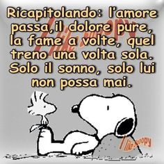 Il sonno... Lucy Van Pelt, Woodstock, Hilarious, Lol, Smile, Humor, My Love, Friends, Fictional Characters