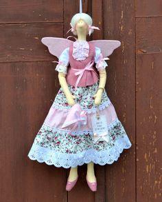 Tilda. Loving Fairy Anett. Handmade interior by OksanaGryts