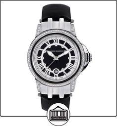 Chrono Diamond 82072_schwarz-43 mm - Reloj para mujeres, correa de cuero  ✿ Relojes para mujer - (Lujo) ✿
