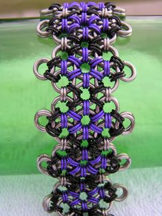 Japanese Chainmail Pattern Bracelet