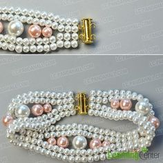 finish the elegant pearl bracelet page 3 tutorials