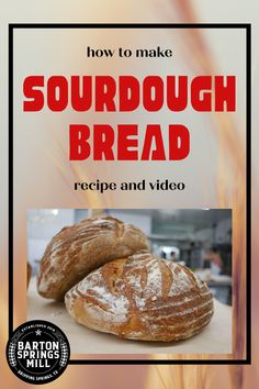 Wondering how exactly to make sourdough with stone-milled flours? You've come to the right place! All the details you need to know for baking a great loaf of sourdough bread—a video with baker Abby Love and a detailed soughdough bread recipe to get you going! Get restaurant and bakery-quality taste and results. Bread art recipes will never be the same. Our fresh milled flours from Barton Springs Mill take your bread recipes to the next level! Recipe Using Sourdough Bread, Soft Sourdough Bread, Sourdough English Muffins, Sourdough Pancakes, Wheat Bread Recipe, Sourdough Pizza, Sourdough Recipes, Bread Recipes, Baking Recipes
