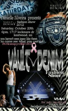 Upcoming Fashion Show to raise money to support Breast Cancer Awareness :)