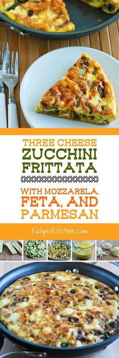 and this tasty frittata with zucchini is low carb gluten free and ...
