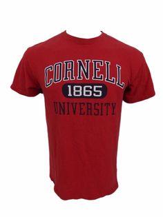 Cornell University Shirt Size M Established 1865 Ithaca NY Ivy League Red #Jansport #GraphicTee