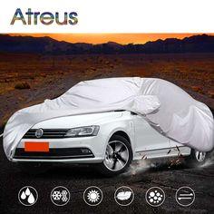 Atreus Sedan M Waterproof Dustproof Car covers for Peugeot 307 301 Chevrolet Aveo VW Bora Jetta Skoda Rapid Ford Focus Fiesta