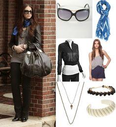 On Georgina: J Brand 'Doll' Bell Jeans, Gucci Hysteria Bag, Tom Ford 'Camilla' Sunglasses