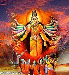 Mother Kali, Mother Goddess, Divine Mother, Durga Ji, Durga Goddess, Tantra Art, Navratri Images, Lord Shiva Painting, Indian Goddess
