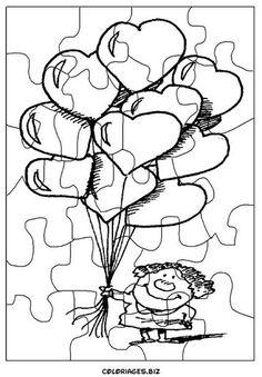 puzzles para colorir - Pesquisa Google