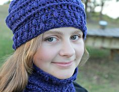 Ravelry: Asperous Hat and Cowl pattern by Sarah jane $4.99
