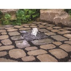 Features: -Powered: Yes. -Finish: Gray. -Modern Style. -Does not include reservoir for water or the pump. -Prevent mosquito larva once there is flowing water. Finish: -Gray. Material: -Stone.