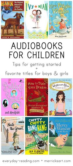 Audiobooks for Kids: Tips for Starting Titles to Try - Kids Audio Books - ideas of Kids Audio Books - Audiobooks for kids are one of the easiest ways to help them develop a love of reading enjoy new books and increase their vocabulary! Audio Books For Kids, Funny Books For Kids, Books For Boys, Funny Kids, Childrens Books, New Books, Good Books, Books To Read, Best Audiobooks