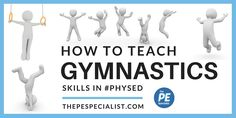 Great resource for Physical Education teachers wanted to develop awesome gymnastics lesson plans for their students. Printables, lesson plans, worksheets, videos and ideas for your next Gymnastics Unit. Gymnastics At Home, Toddler Gymnastics, Gymnastics Lessons, Preschool Gymnastics, Amazing Gymnastics, Gymnastics Coaching, Gymnastics Moves, Elementary Physical Education, Physical Education
