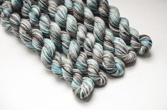 Mini skeins of Seashore
