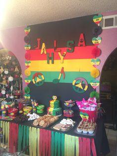 One love one heart Reggae birthday party!