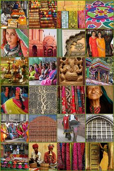 I love these ethnic cultures with their bright exotic rainbows and buildings older than we can imagine...