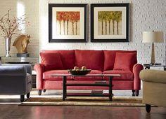 Amalfi, Living Rooms | Havertys Furniture - available in 150 fabrics - Sofa $700, Loveseat $670