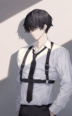 Hot Anime Boy, Anime Boys, Dark Anime Guys, Cool Anime Guys, Handsome Anime Guys, Anime Boy Hair, Anime Black Hair, Got Anime, Yandere Manga