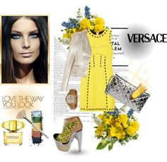 """""""Versace"""" by ayla-m ❤ liked on Polyvore"""