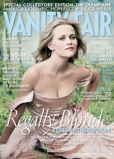 Reese Witherspoon by Annie Leibovitz for Vanity Fair September 2004