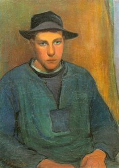 Young Fisherman from Doëlan, Władysław Ślewiński, ca. 1897