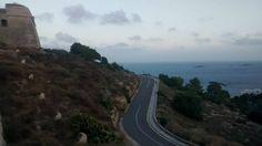 Road to Dalt Vila