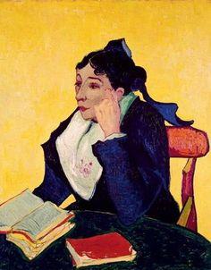 A Arlesiana, 1888 [Retrato de Mme Ginoux] Vincent Van Gogh (Holanda, 1853-1890 ) óleo sobre tela,  92 x 73 cm Metropolitan Museu...