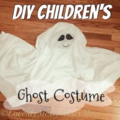 DIY Childrens Ghost